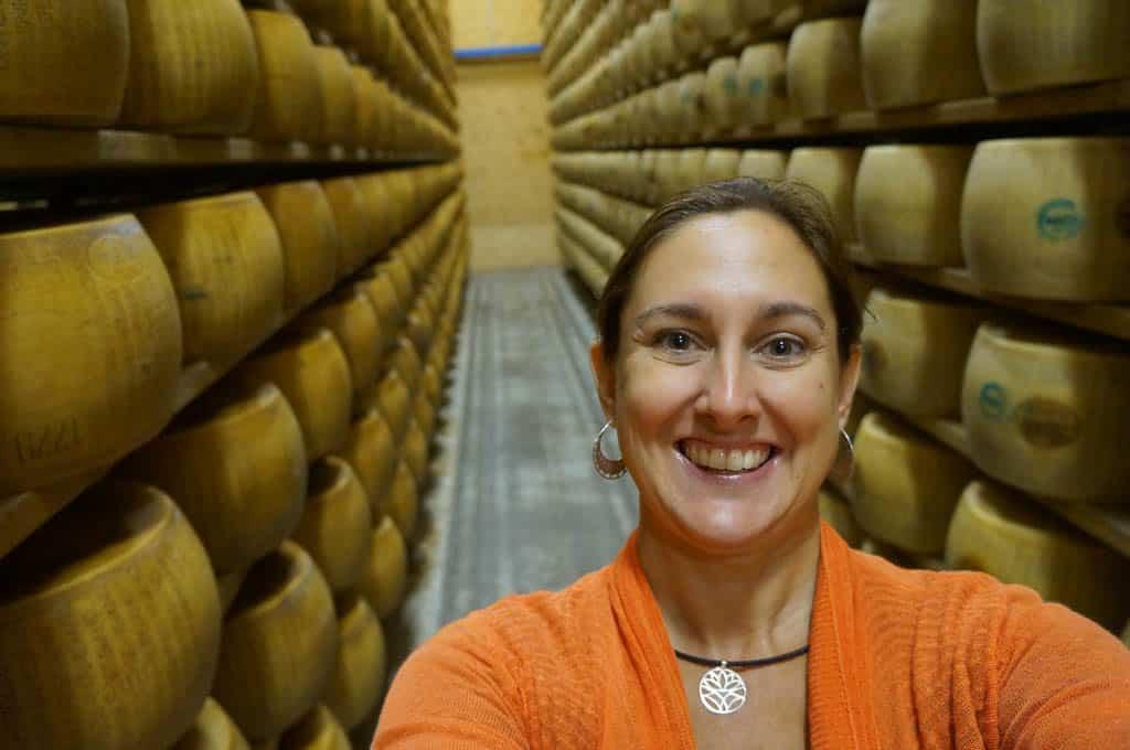 places to visit in Parma - Parmigiano Reggiano producer