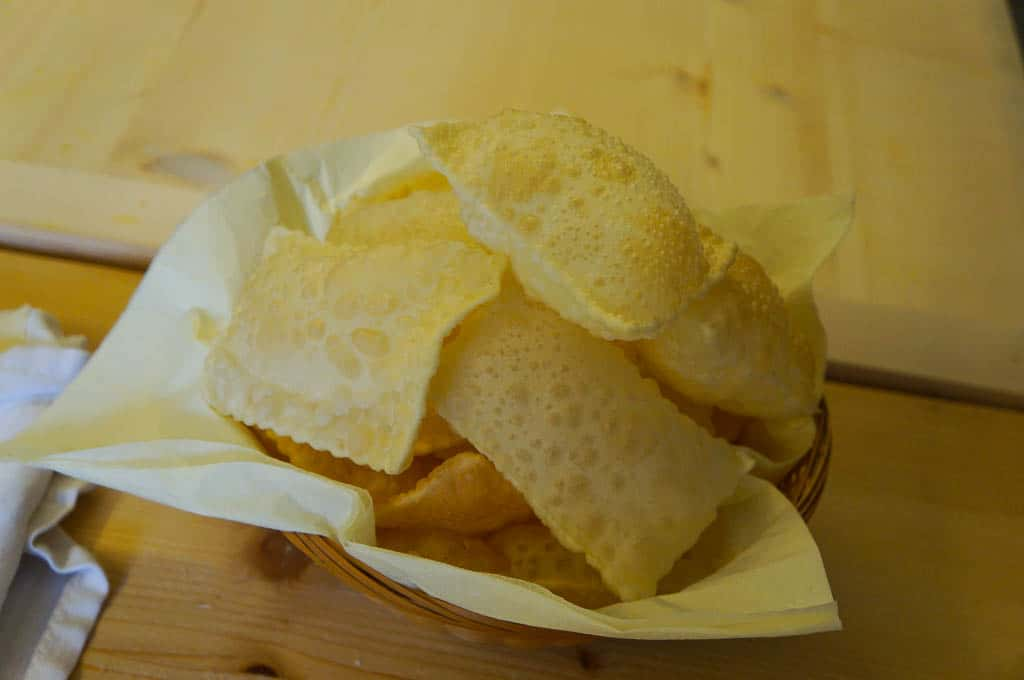 modena italy food - Gnocco Fritto