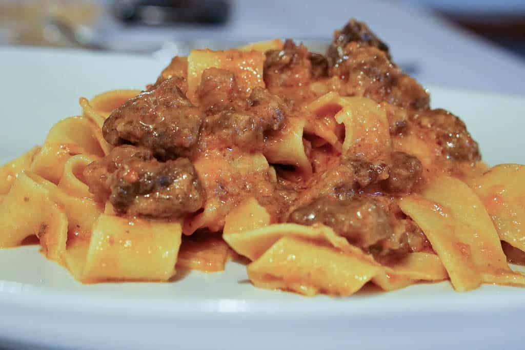 must do in Bologna - eat Tagliatelle Ragu