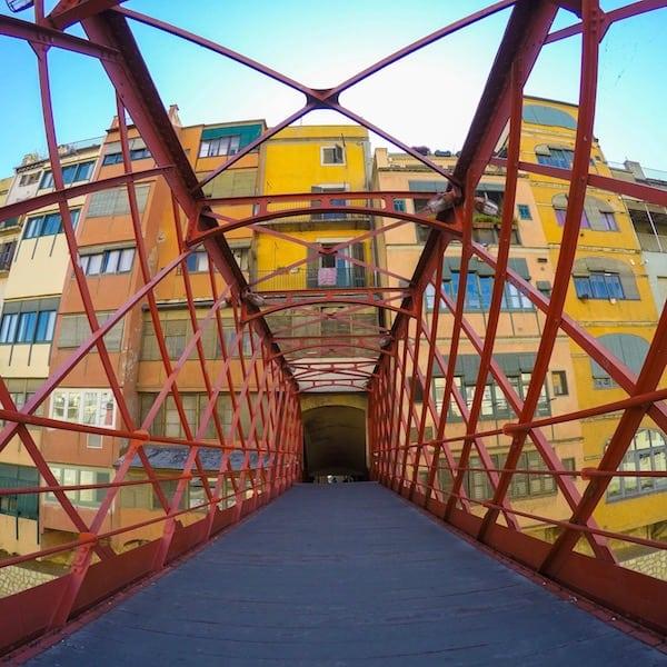 The Eiffel Bridge Girona
