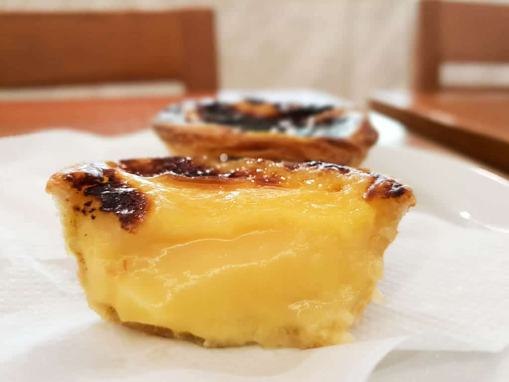 Eating Pastel de Nata In Porto