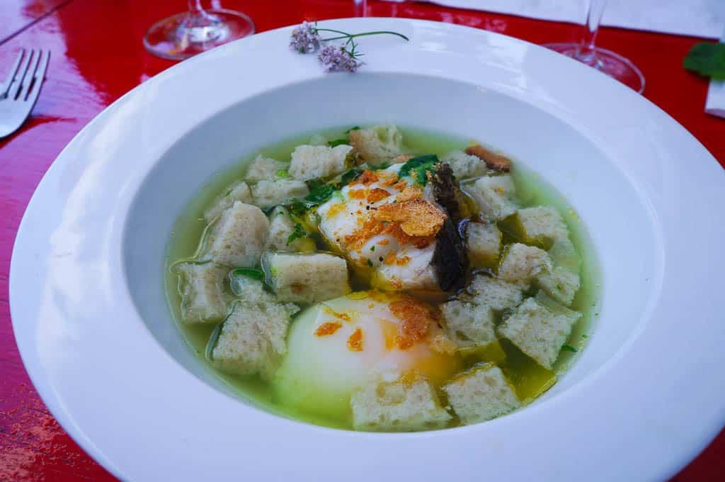 Açorda - Porto dining must eat dish