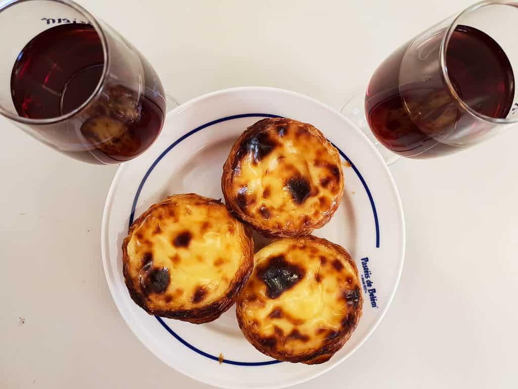 Best Breakfast in Lisbon - Pastel de Nata