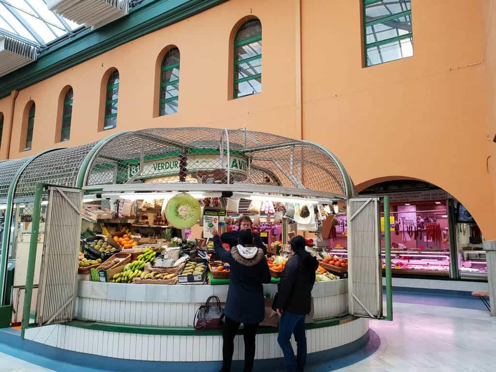 Pamplona things to do - Pamplona food market