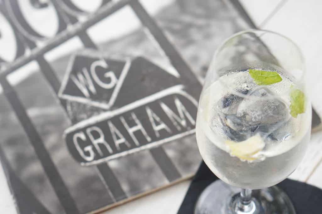 White Port Cocktail at Vinum at Grahams