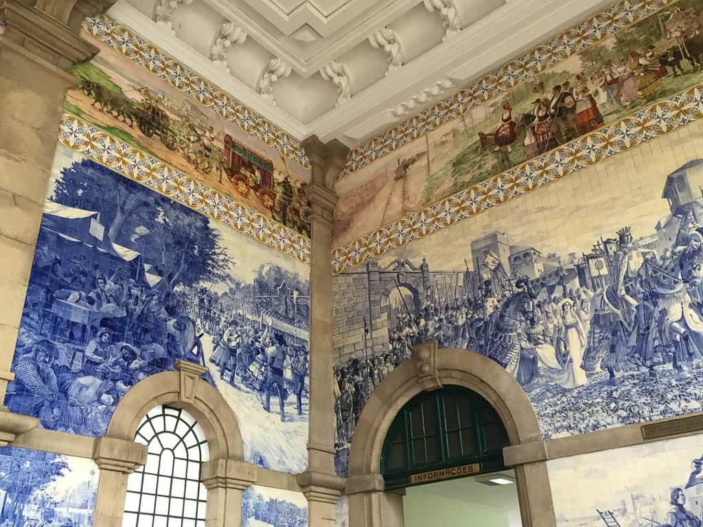 Sao Bento Train Station on a Porto City Tour