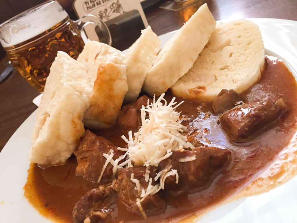 traditional Czech food to eat in Prague