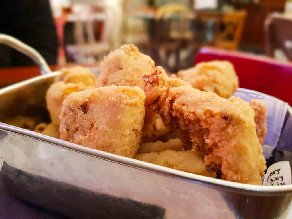 Seville cuisine - cazon de adobo
