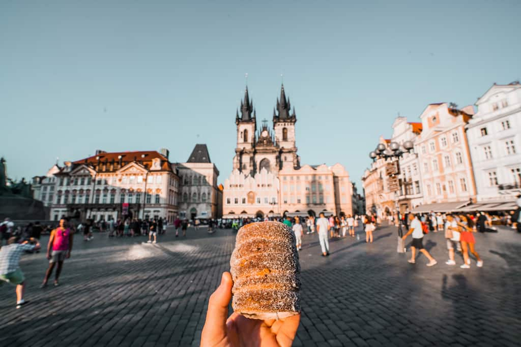 Prague dishes - Trdelnik