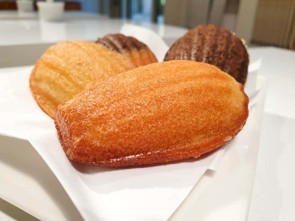 Madeleines at Lea Linster Luxembourg