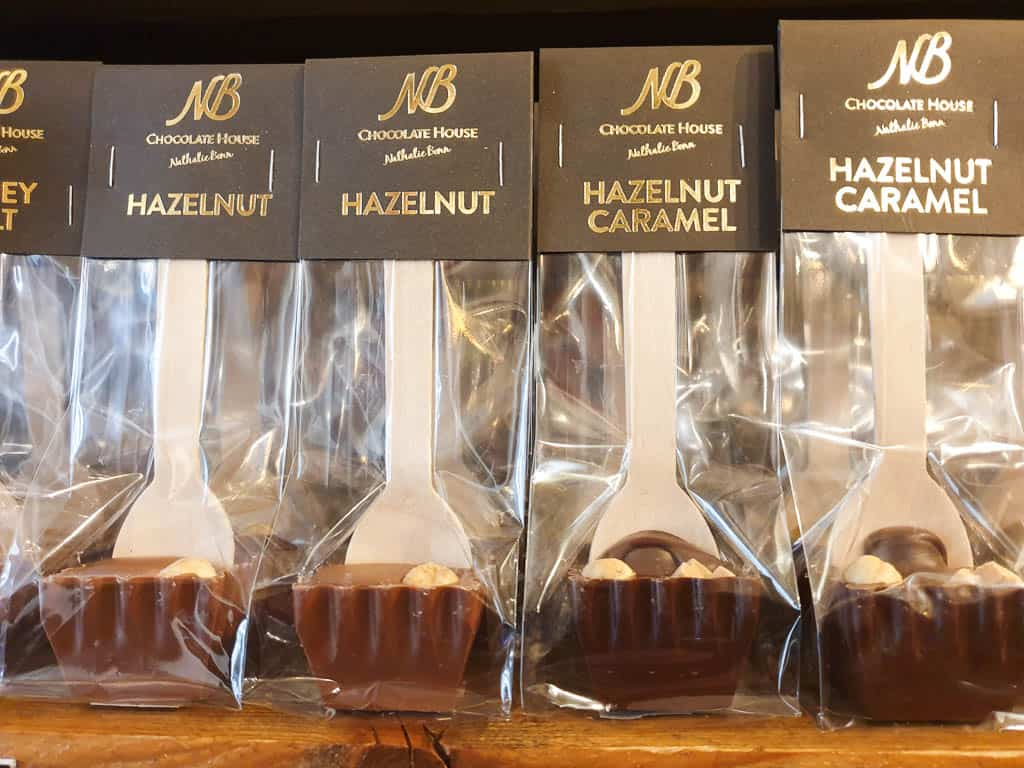 Hot Chocolate Spoons at Chocolate House Luxembourg