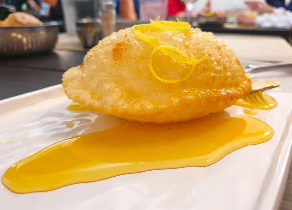Sebadas - Sardinia dessert