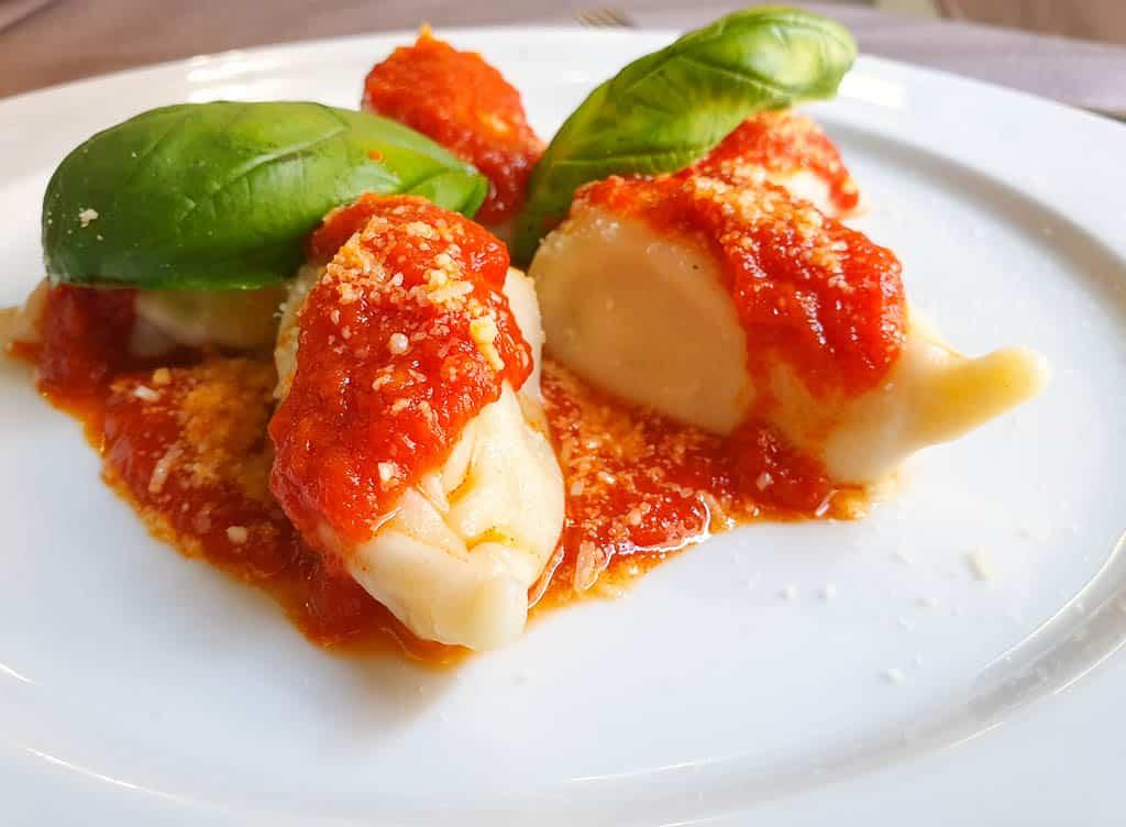 best food Sardinia - culurgiones