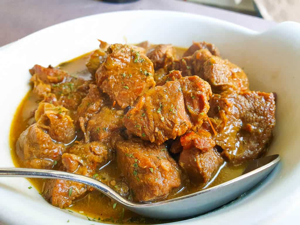 what is sardinia known for - goat and lamb