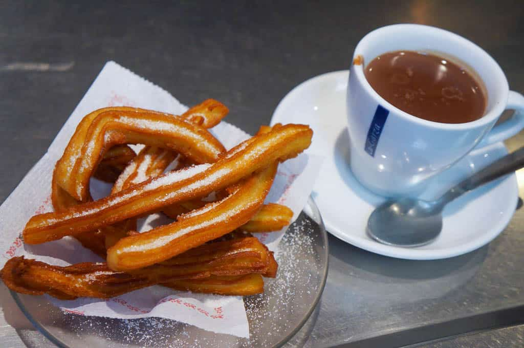 famous food in Madrid