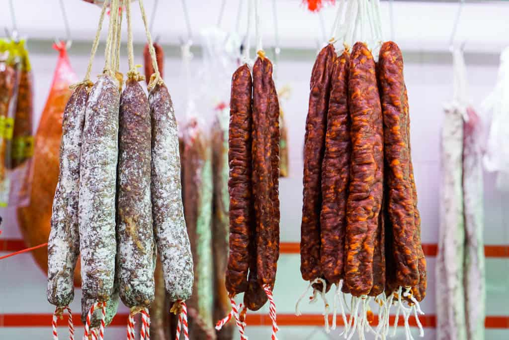 catalonia spain food - embotits and cured meats