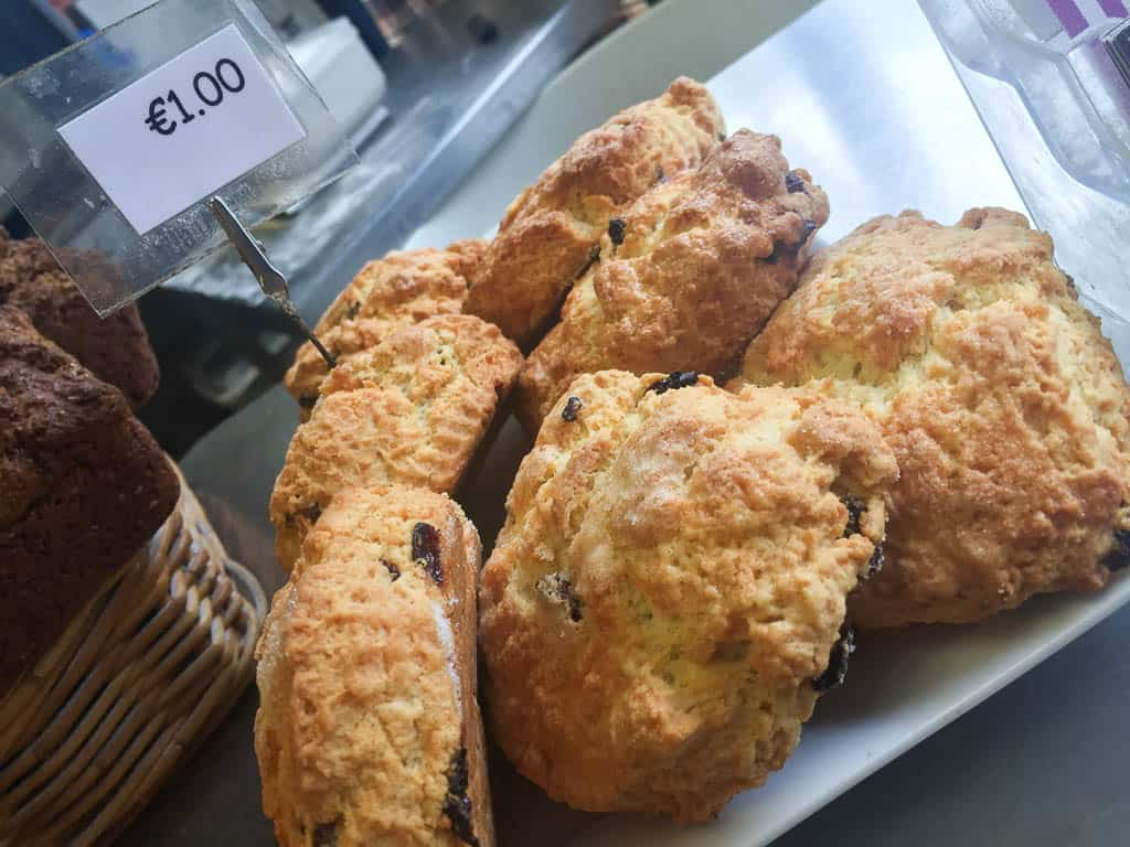 best food to eat in Ireland - scones