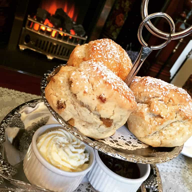 Ireland traditional food - scones