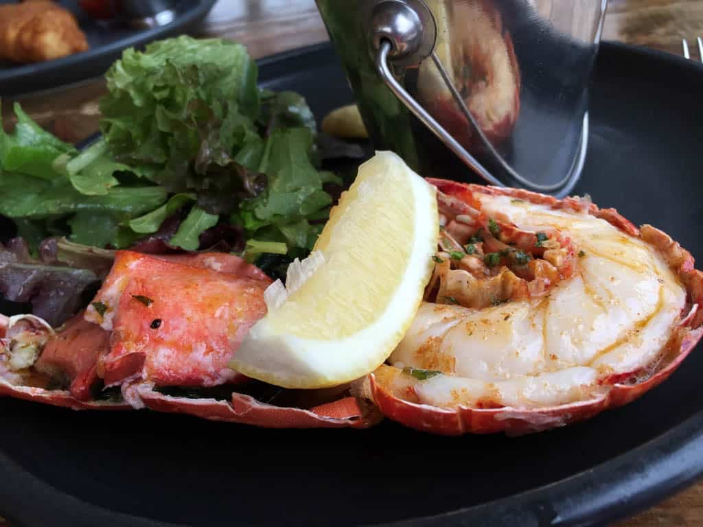 typical food in Ireland - seafood