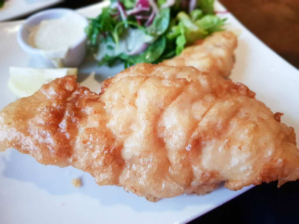 good food in Ireland - fish and chips