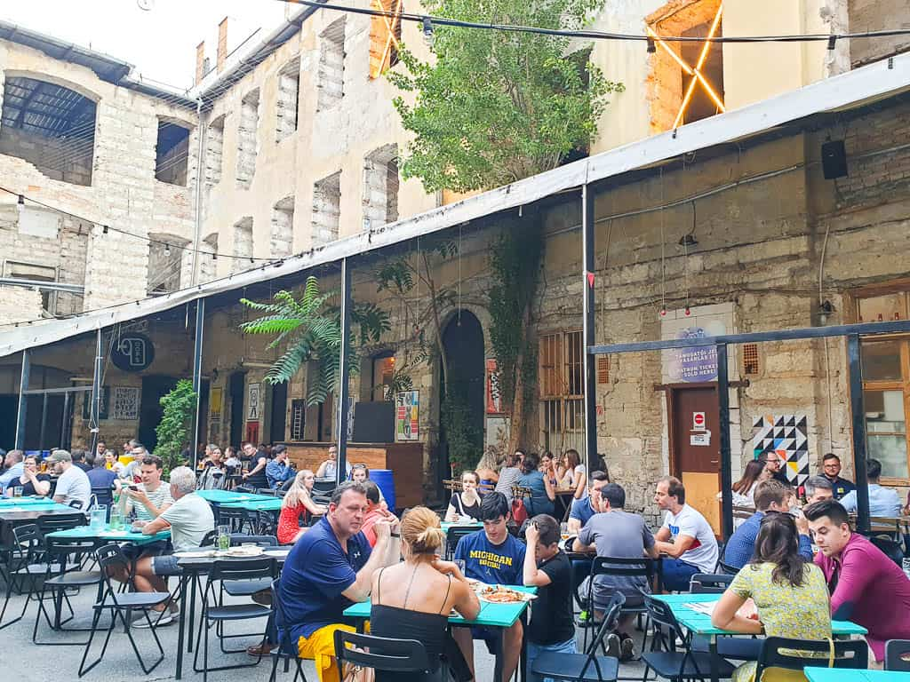 Anker't Beer Garden Budapest