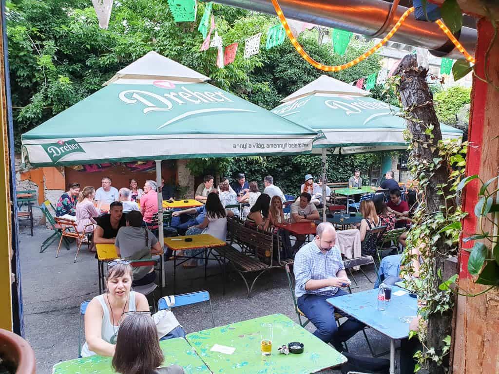 beer garden budapest