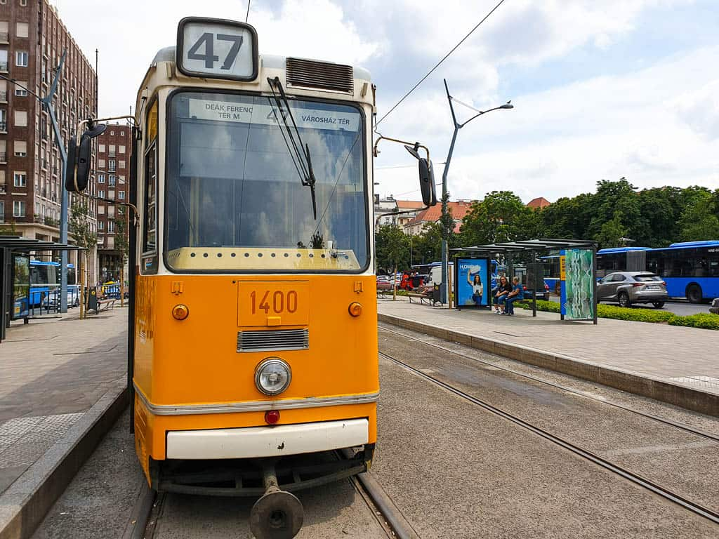 Budapest trams