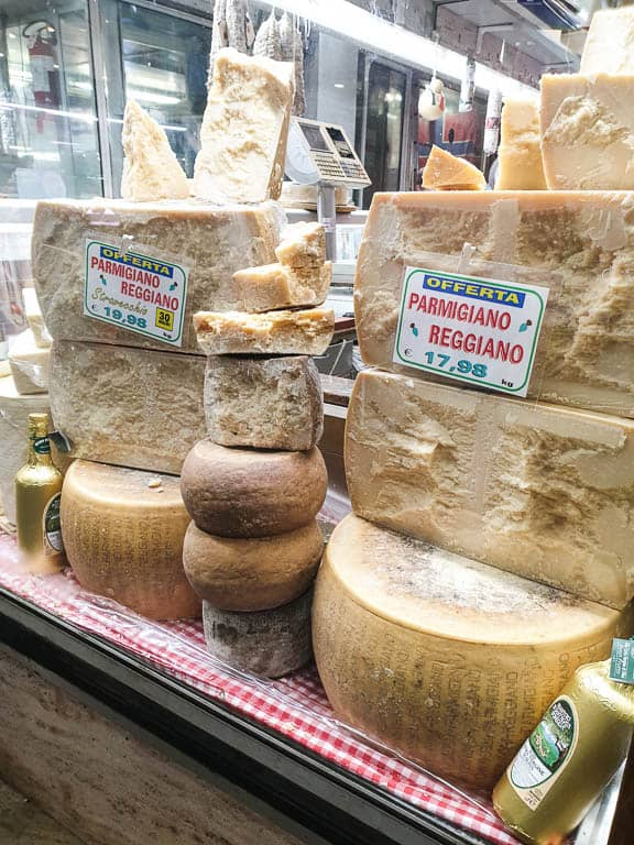 Parmigiano Reggiano for Pesto