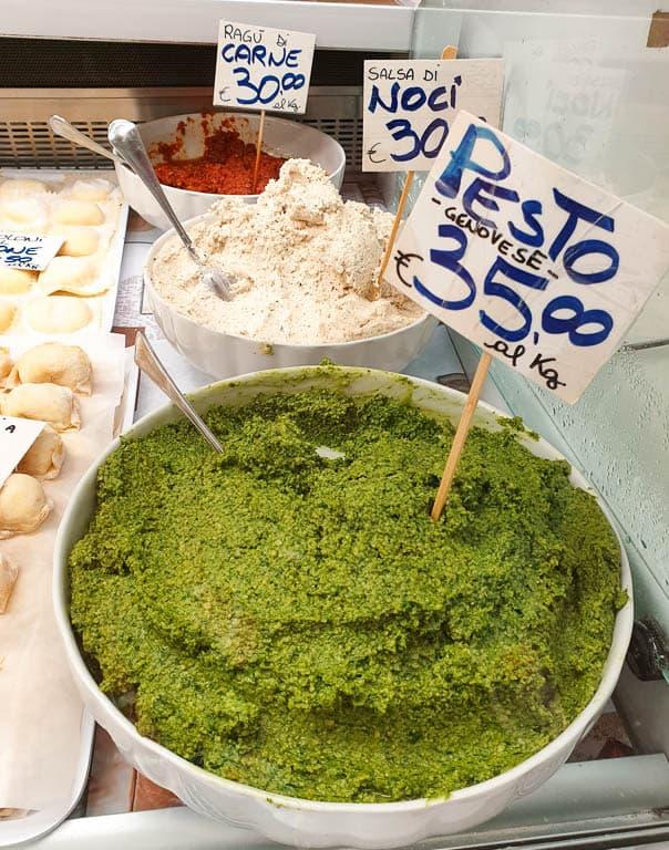 Genoa pasta sauces