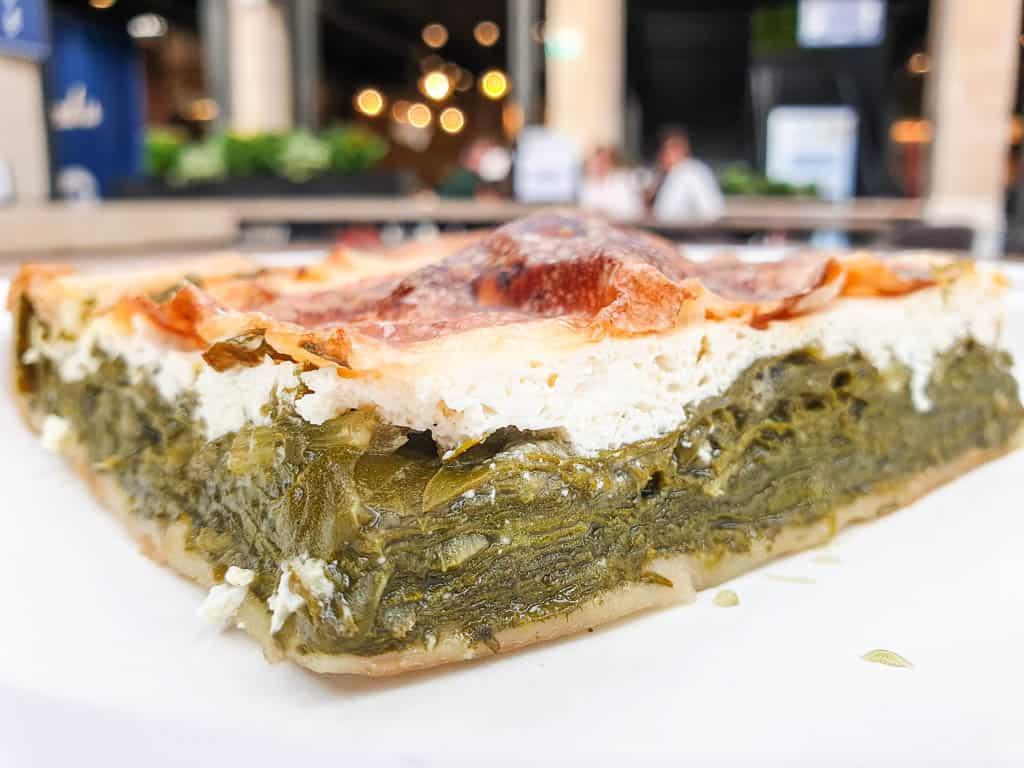 torta di verdure in Genoa