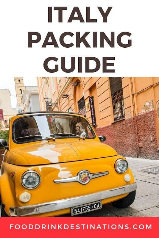 Italy Packing List - How To Pack For Italy