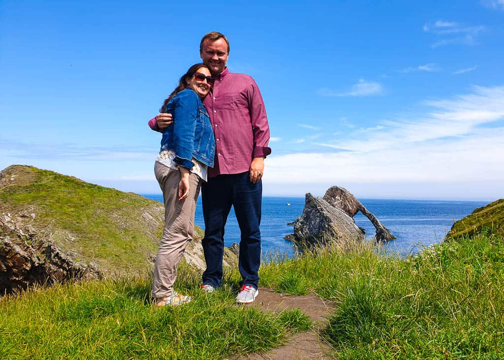 Bowfiddle Rock Scotland