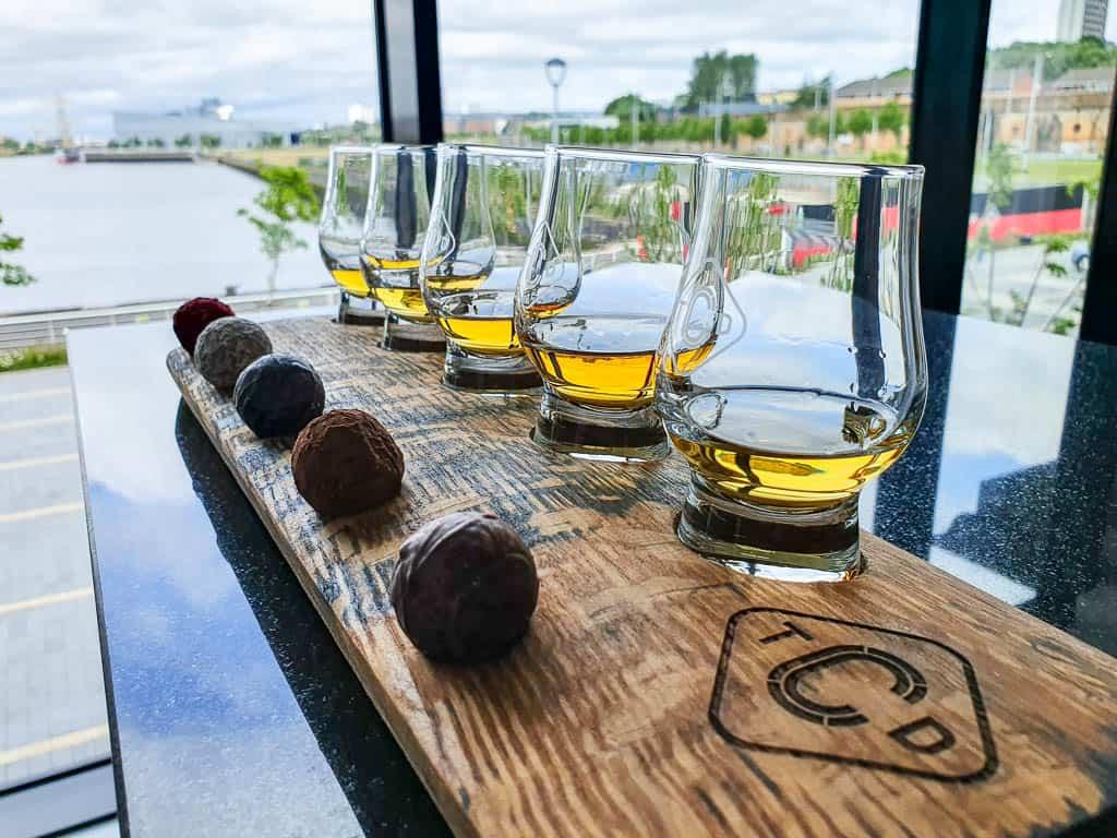 whisky distilleries glasgow
