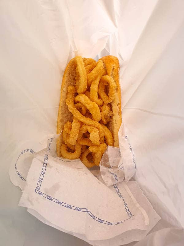 Bocadillo de Calamares in Madrid