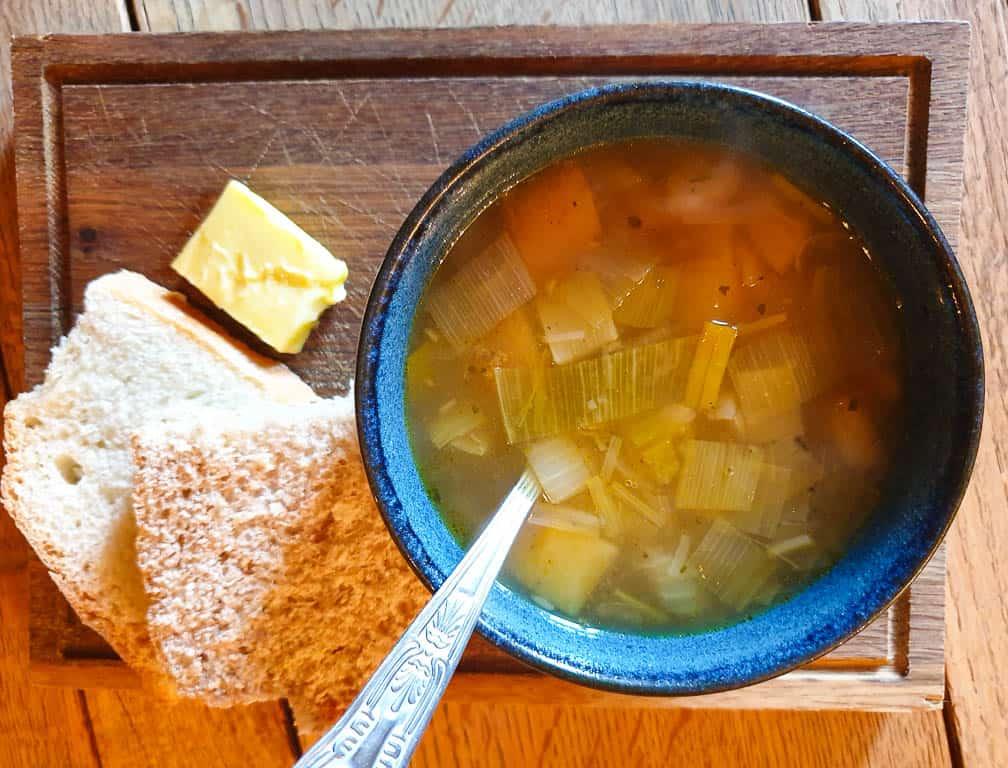 leek and tattie soup