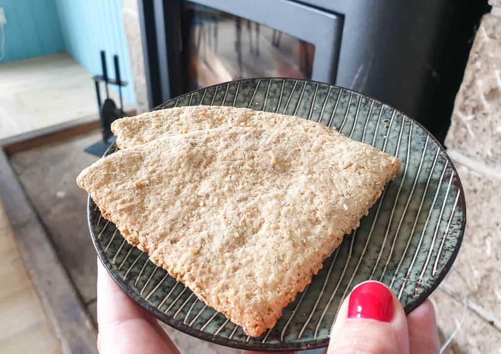 traditional scottish food - oatcakes