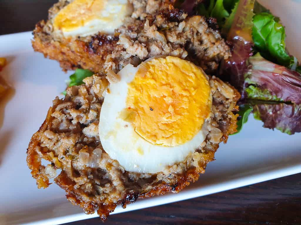Scottish pub food - Scotch Eggs