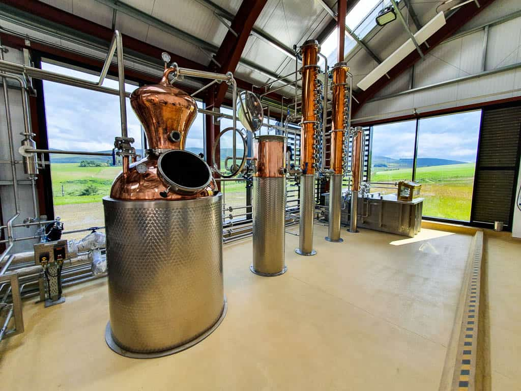 Scottish gin distillery tours
