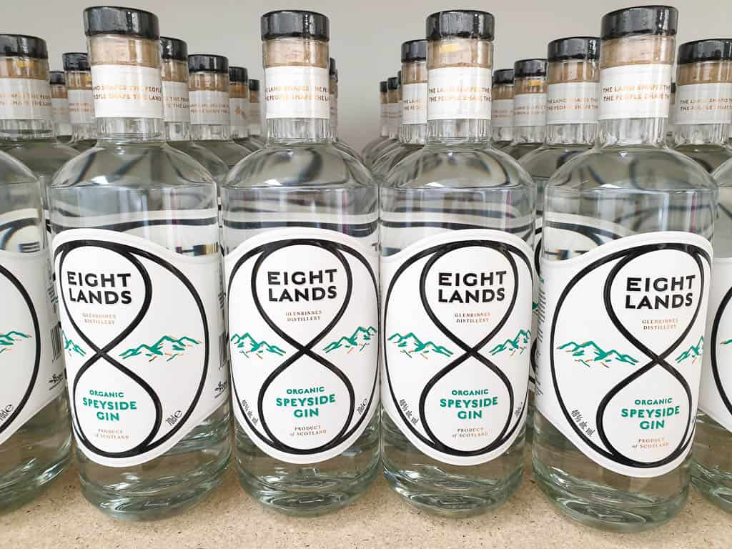 Eight Lands Scottish Organic Gin