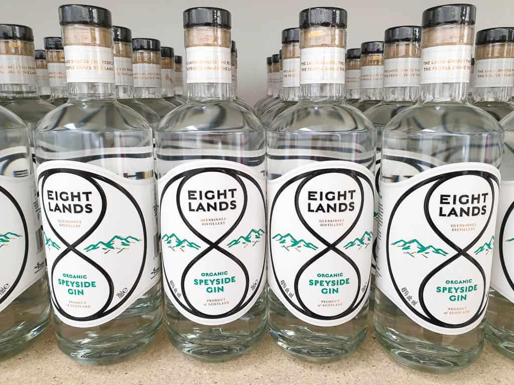 Eight Lands Scottish Organic Gin
