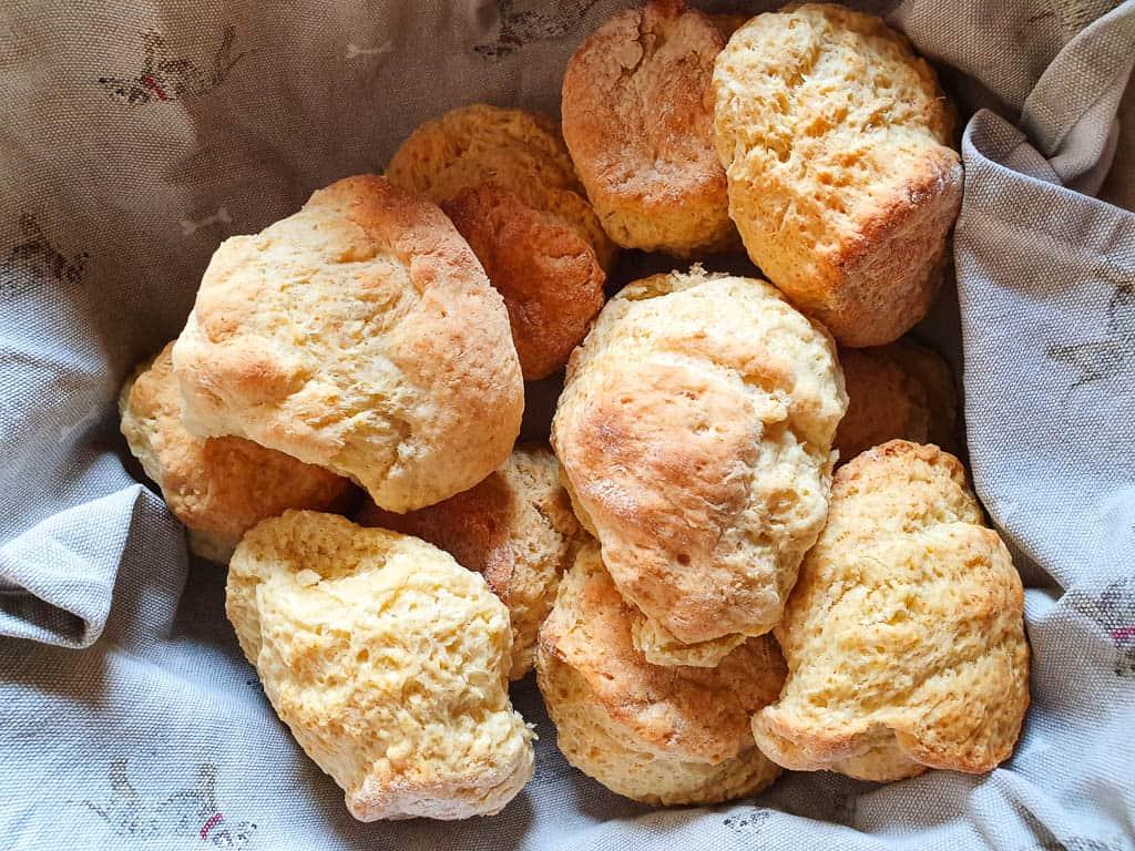 scones in Scotland