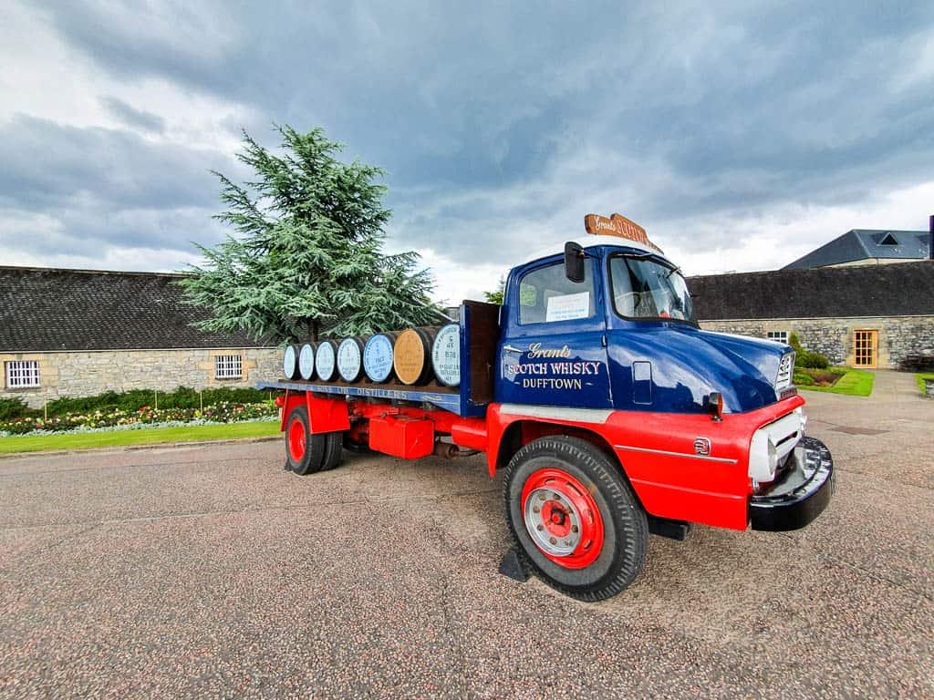 Glenfiddich Distillery Dufftown