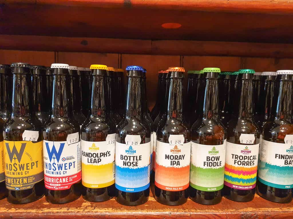 craft beer in Scotland