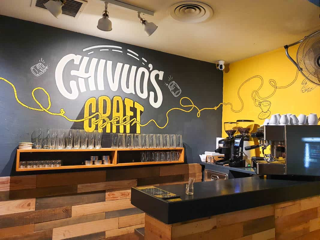 Chivou's Barcelona Craft Beer And Street Food
