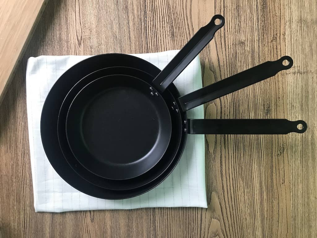 Best Carbon Steel Pans, Skillets & Frying Pans