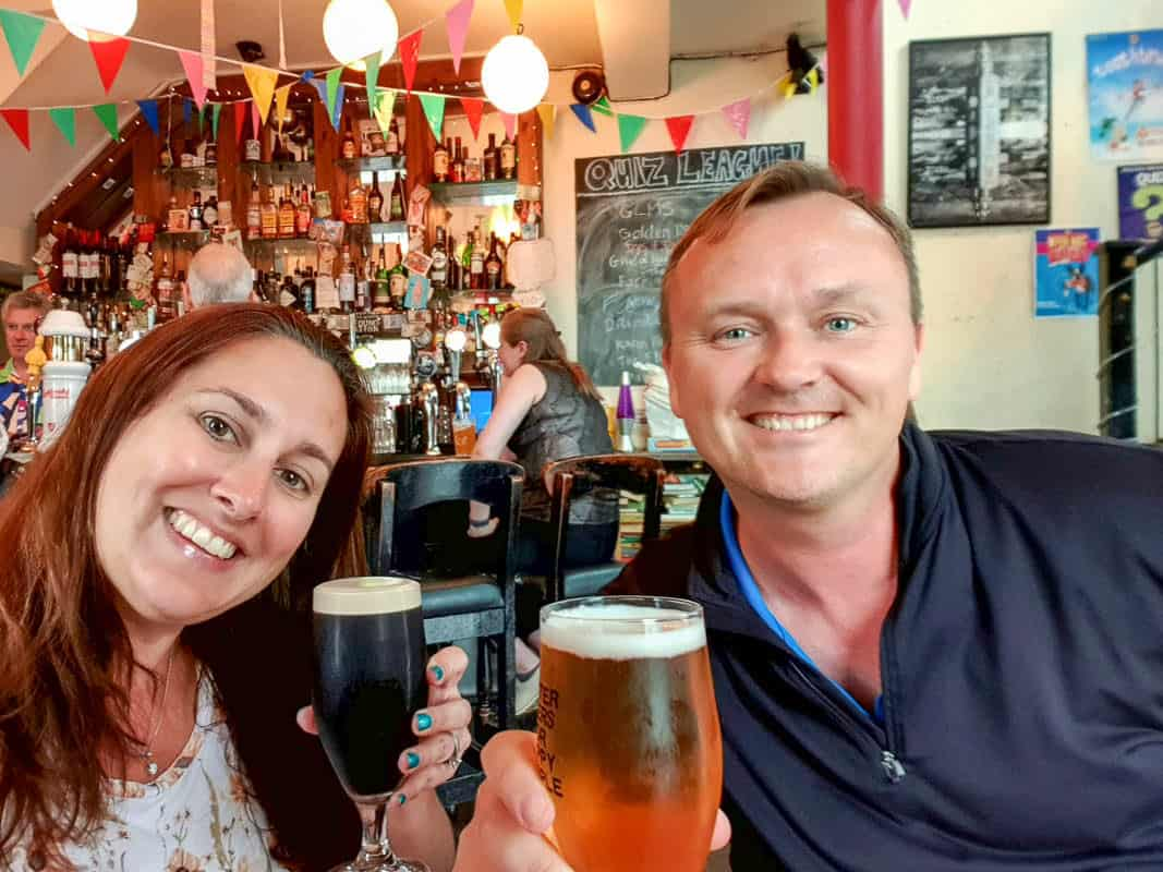 Drinking Craft Beer In Ireland