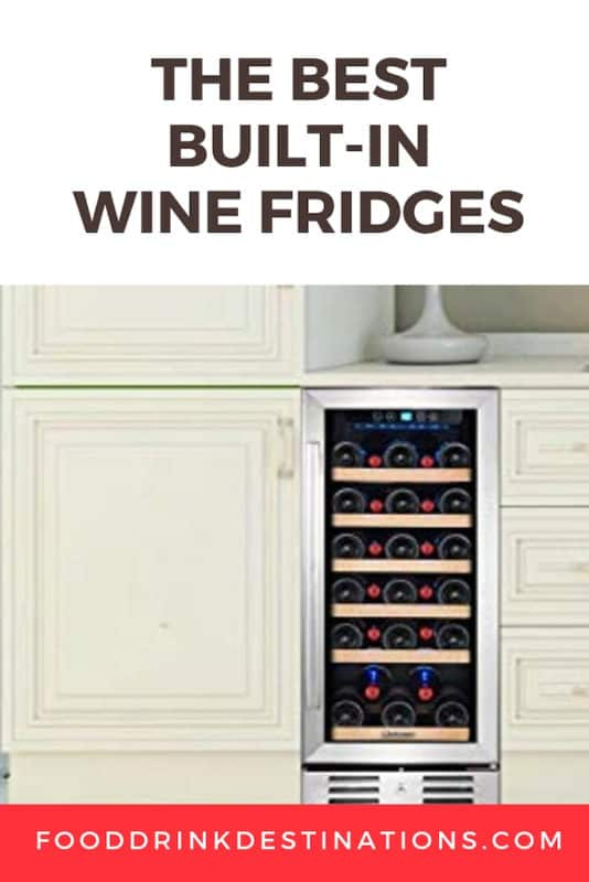 The Best Built In And Under Counter Wine Fridges