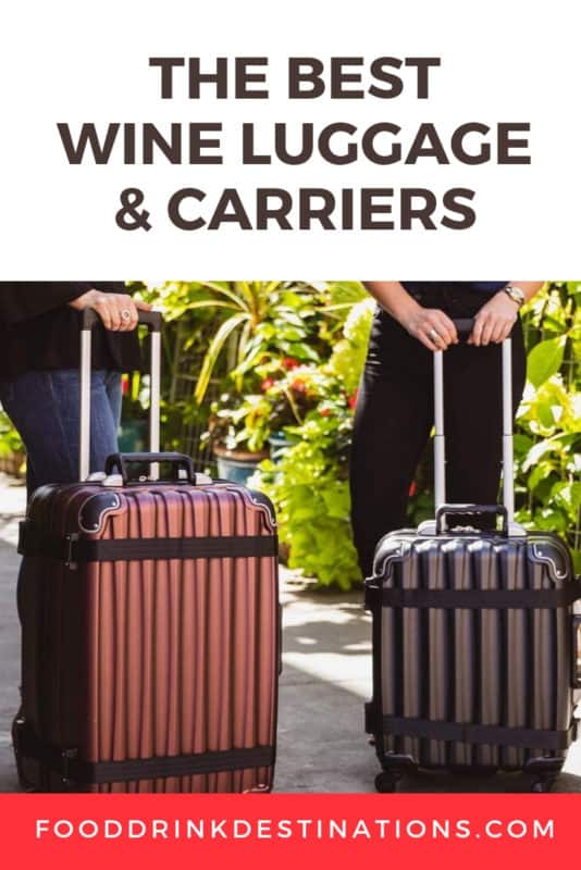 The Best Wine Travel Case - How To Fly With Wine