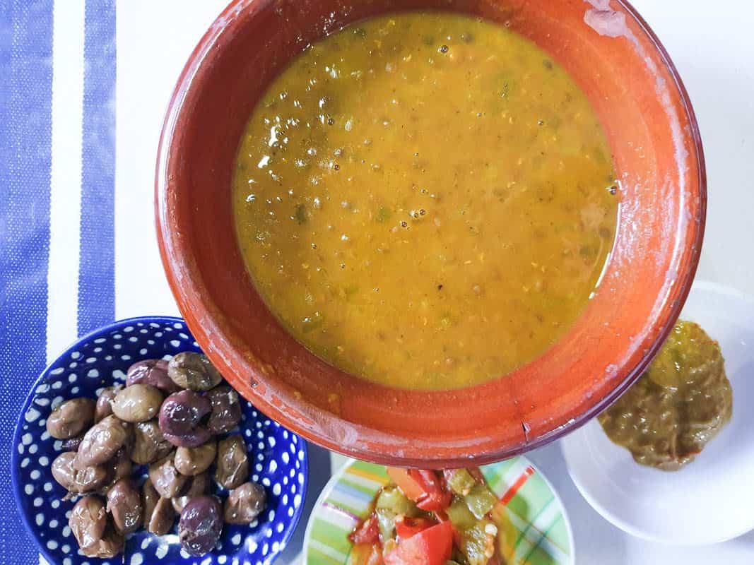 Moroccan Lentils