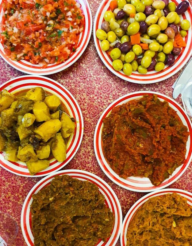 moroccan food starters